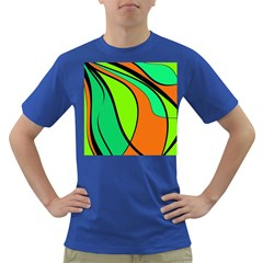 Green And Orange Dark T Shirt