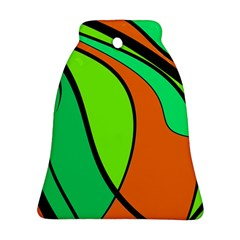 Green and orange Ornament (Bell)