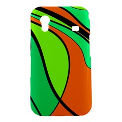 Green and orange Samsung Galaxy Ace S5830 Hardshell Case