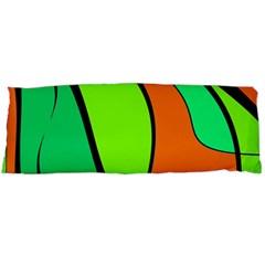 Green and orange Body Pillow Case (Dakimakura)