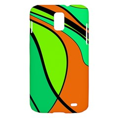 Green and orange Samsung Galaxy S II Skyrocket Hardshell Case