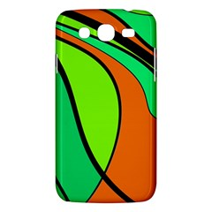 Green and orange Samsung Galaxy Mega 5.8 I9152 Hardshell Case