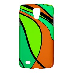 Green and orange Galaxy S4 Active