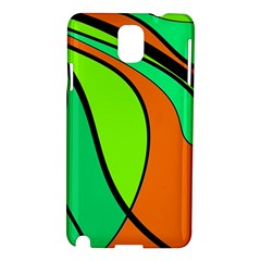 Green and orange Samsung Galaxy Note 3 N9005 Hardshell Case