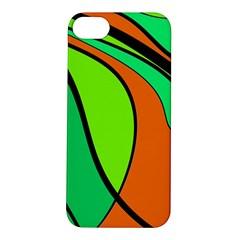 Green and orange Apple iPhone 5S/ SE Hardshell Case