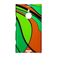 Green and orange Nokia Lumia 1520