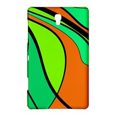 Green and orange Samsung Galaxy Tab S (8.4 ) Hardshell Case