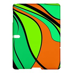 Green and orange Samsung Galaxy Tab S (10.5 ) Hardshell Case