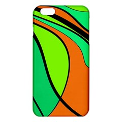 Green and orange iPhone 6 Plus/6S Plus TPU Case