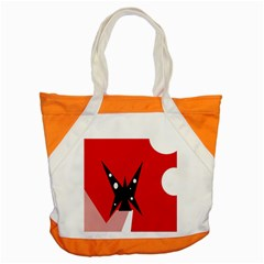 Black butterfly  Accent Tote Bag