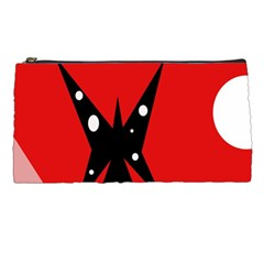 Black butterfly  Pencil Cases