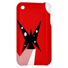 Black butterfly  Apple iPhone 3G/3GS Hardshell Case