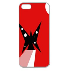 Black butterfly  Apple Seamless iPhone 5 Case (Clear)
