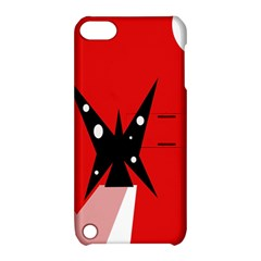 Black butterfly  Apple iPod Touch 5 Hardshell Case with Stand