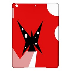 Black butterfly  iPad Air Hardshell Cases