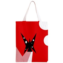 Black butterfly  Classic Light Tote Bag