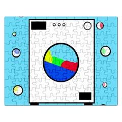 Washing machine  Rectangular Jigsaw Puzzl