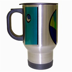 Washing machine  Travel Mug (Silver Gray)