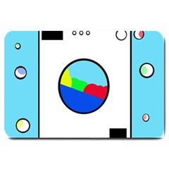 Washing machine  Large Doormat