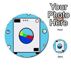 Washing machine  Multi-purpose Cards (Round)