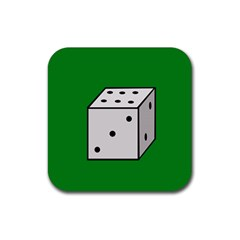 Dice  Rubber Coaster (square)