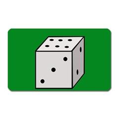Dice  Magnet (Rectangular)
