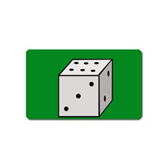 Dice  Magnet (Name Card)