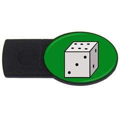 Dice  USB Flash Drive Oval (2 GB)