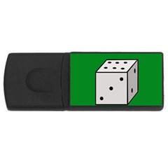 Dice  USB Flash Drive Rectangular (2 GB)