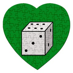Dice  Jigsaw Puzzle (heart)