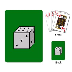 Dice  Playing Card