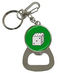 Dice  Bottle Opener Key Chains