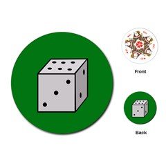 Dice  Playing Cards (Round)