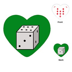 Dice  Playing Cards (heart)