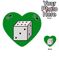 Dice  Playing Cards 54 (Heart)