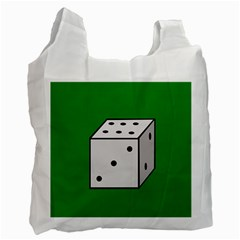 Dice  Recycle Bag (One Side)