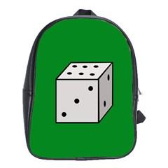 Dice  School Bags(Large)