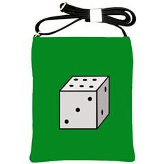 Dice  Shoulder Sling Bags