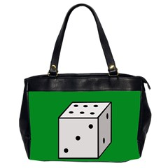 Dice  Office Handbags (2 Sides)
