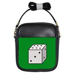Dice  Girls Sling Bags