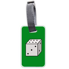 Dice  Luggage Tags (Two Sides)