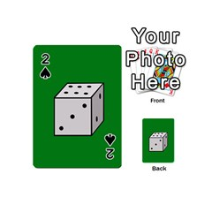 Dice  Playing Cards 54 (Mini)