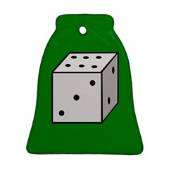 Dice  Bell Ornament (2 Sides)