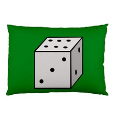 Dice  Pillow Case (Two Sides)