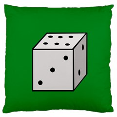 Dice  Large Cushion Case (Two Sides)