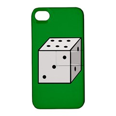 Dice  Apple iPhone 4/4S Hardshell Case with Stand