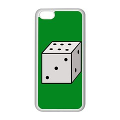 Dice  Apple iPhone 5C Seamless Case (White)