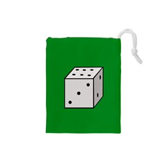 Dice  Drawstring Pouches (Small)