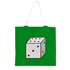 Dice  Grocery Light Tote Bag