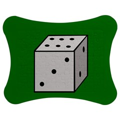Dice  Jigsaw Puzzle Photo Stand (Bow)